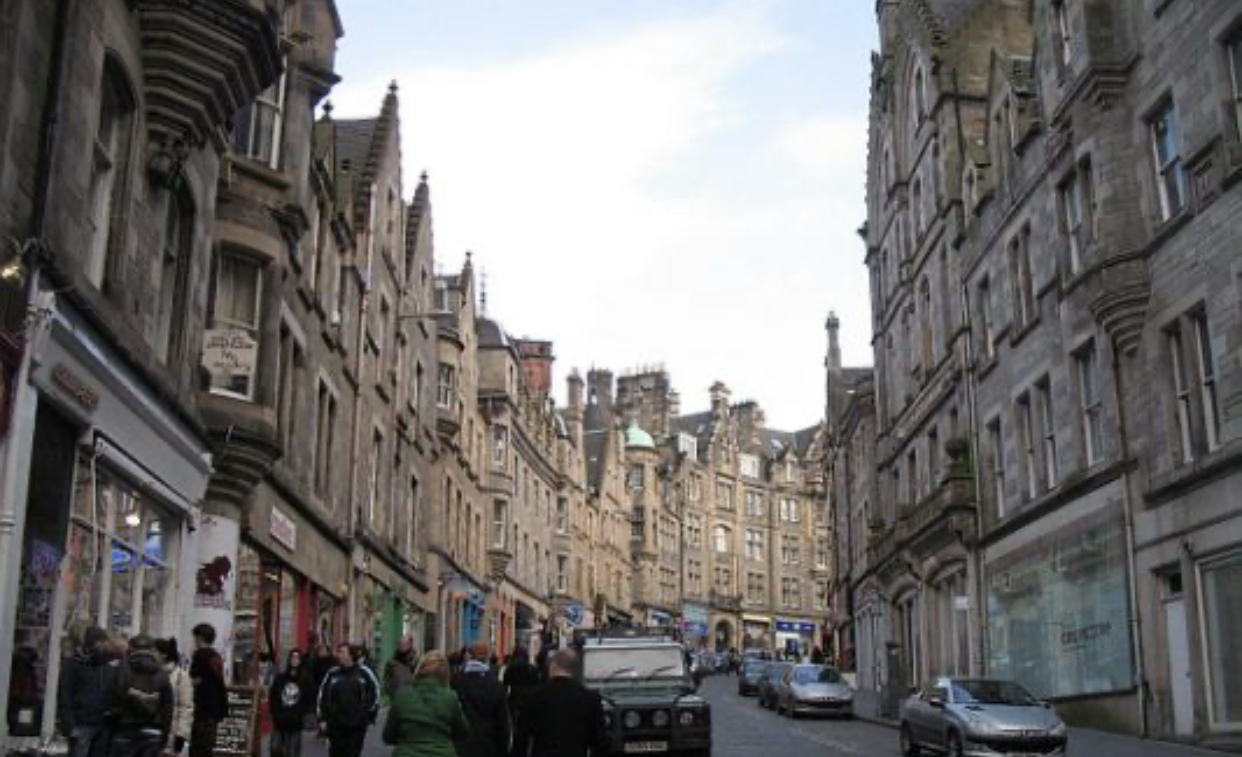 Edinburgh Cockburn Street.