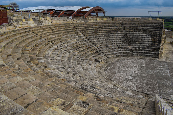 Kourion – spectacular amphitheatre
