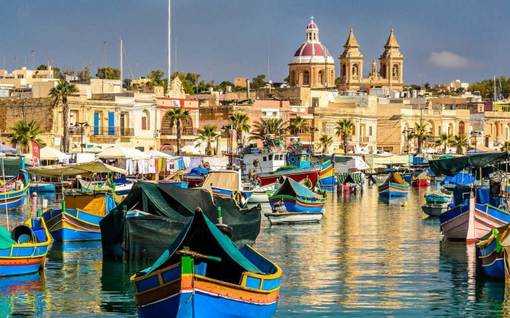 Malta, water sports and nightlife