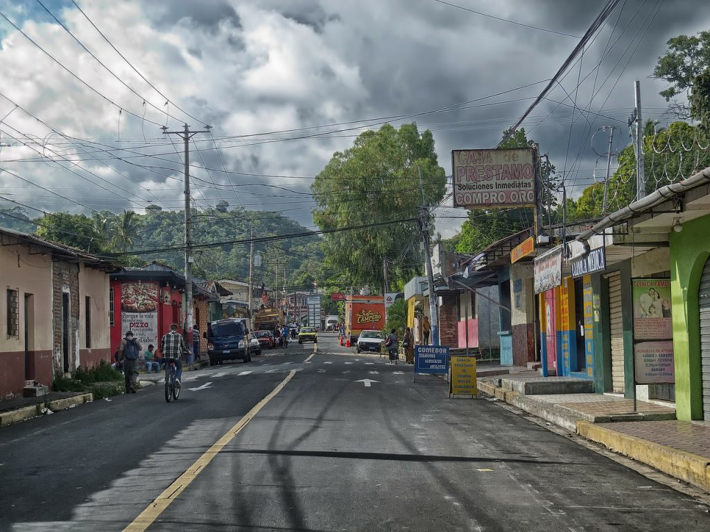 El Salvador - Local Road