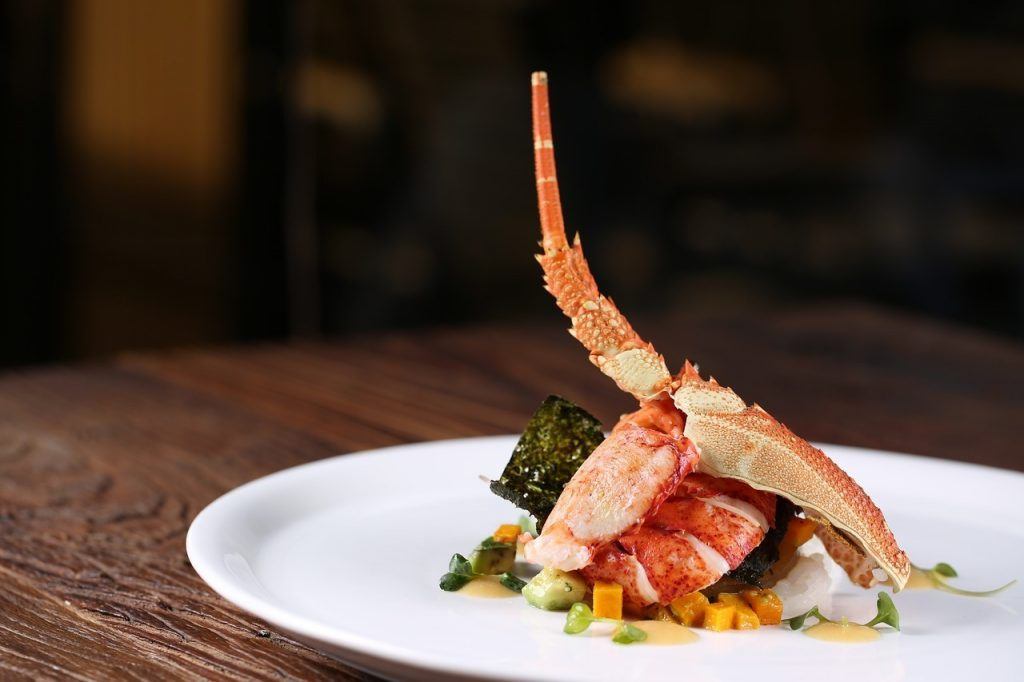 lobster sea food