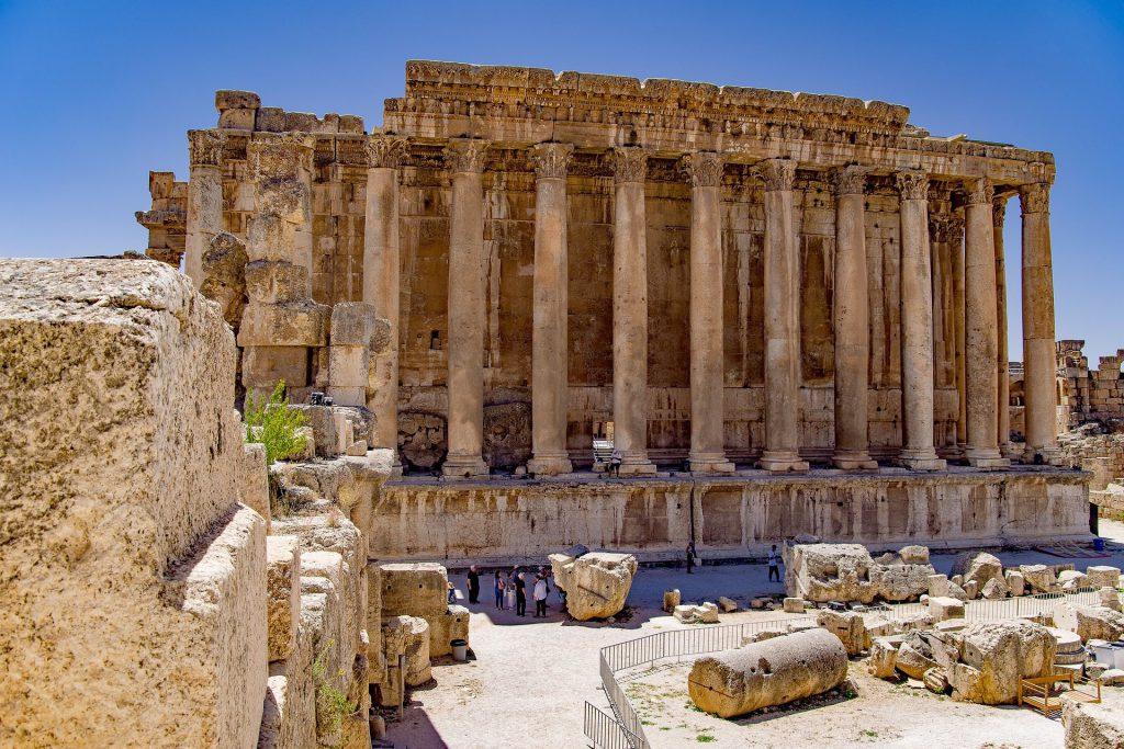 BEIRUT - temple ruins