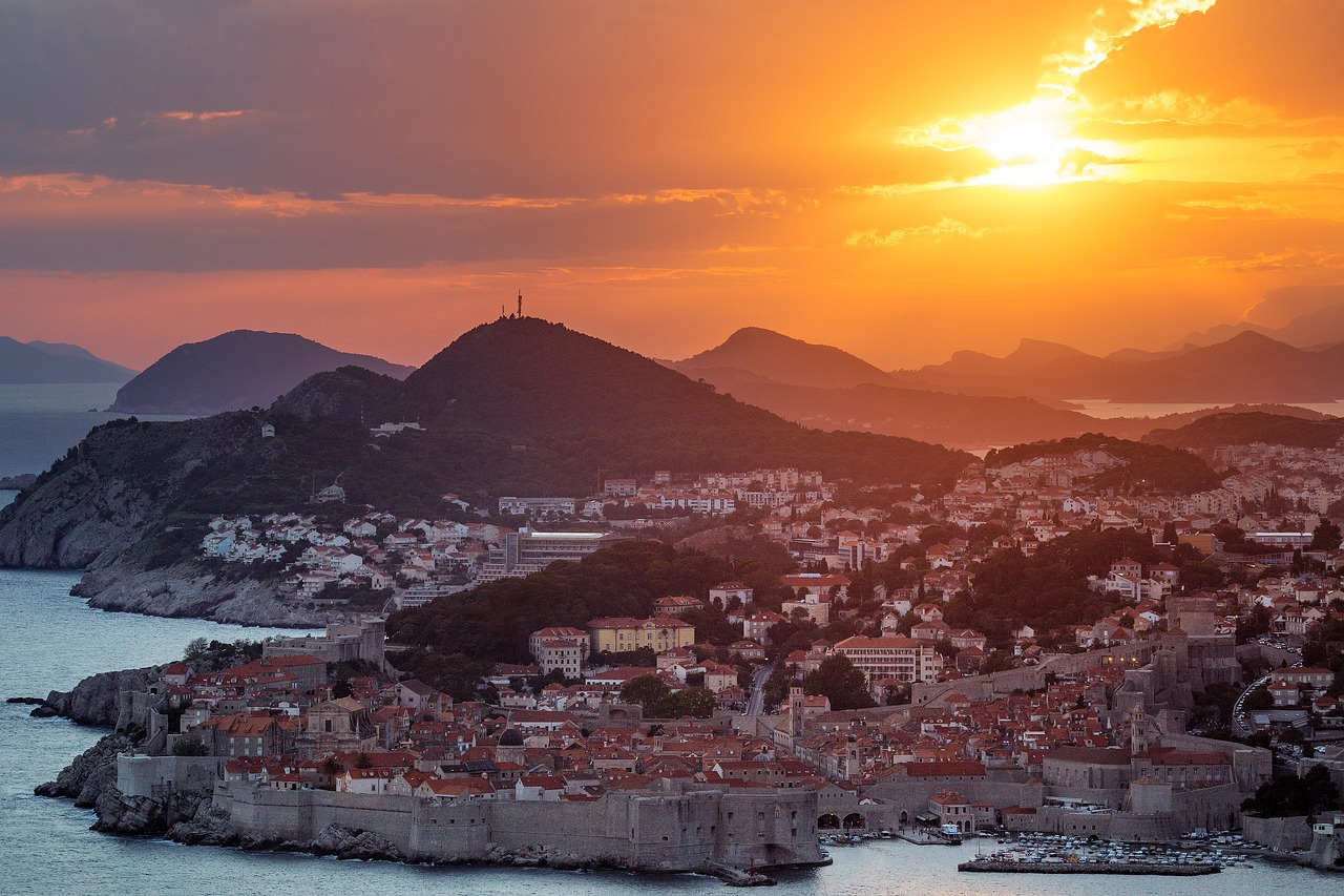 Dubrovnik---Sunset