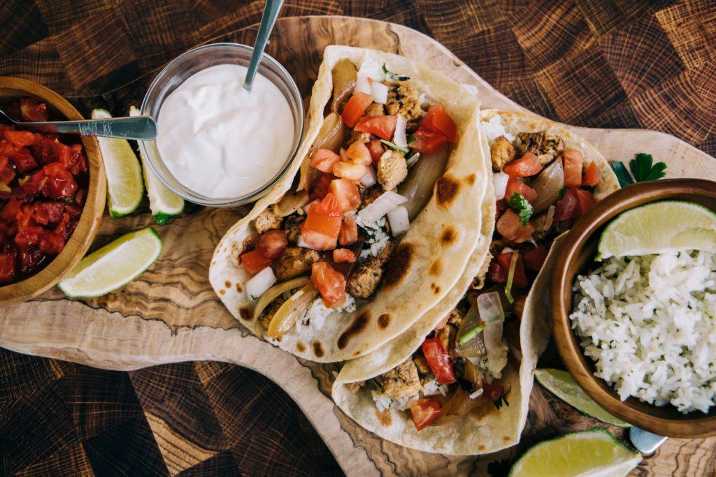 mexican food, tacos