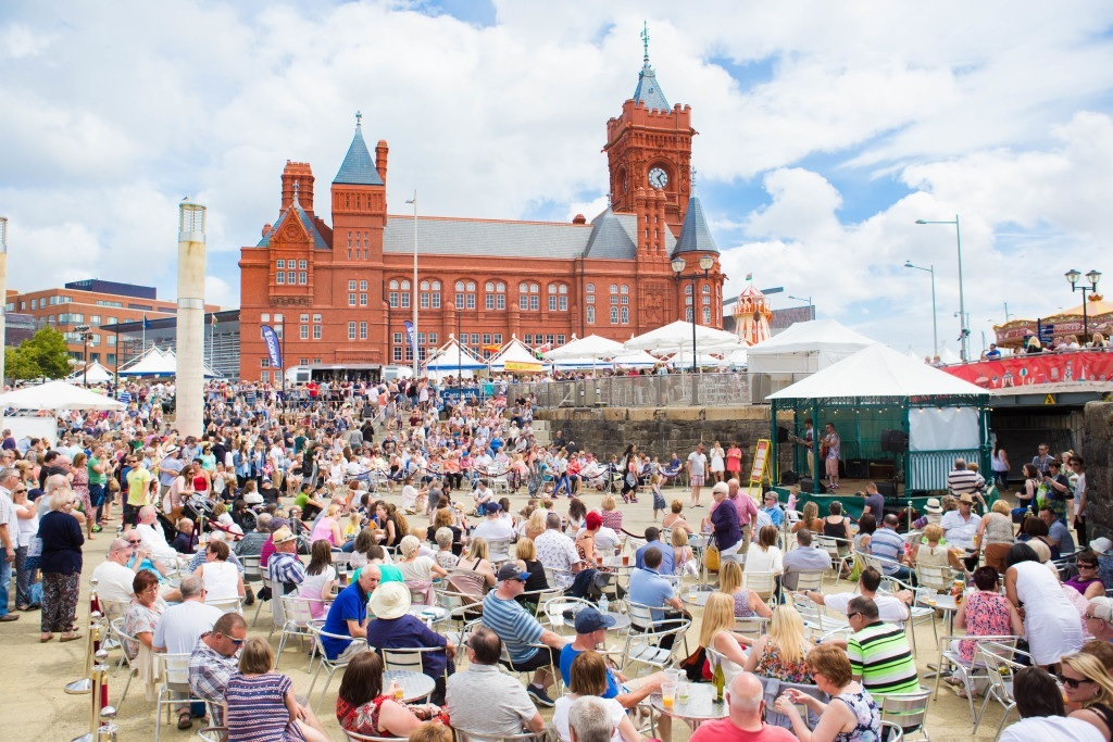 Cardiff - food festival