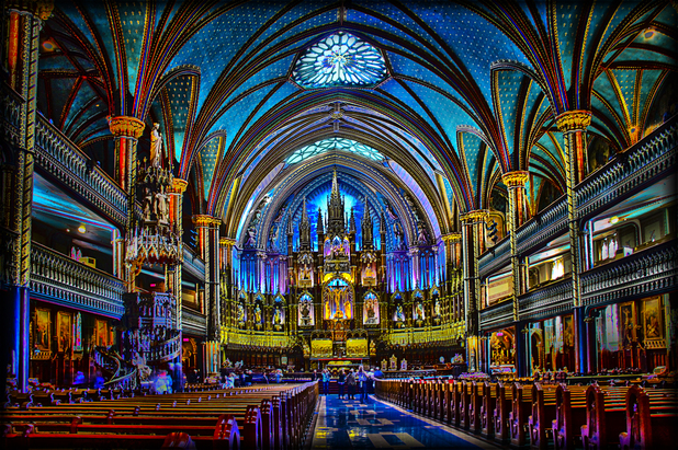 What to see in Montreal - Notre_Dame