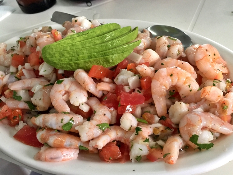 Seafood ceviche colombia