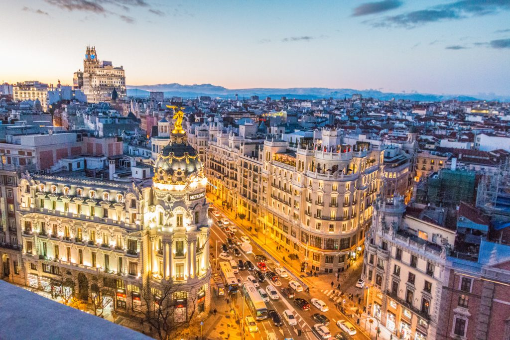 travel to Madrid, Spain