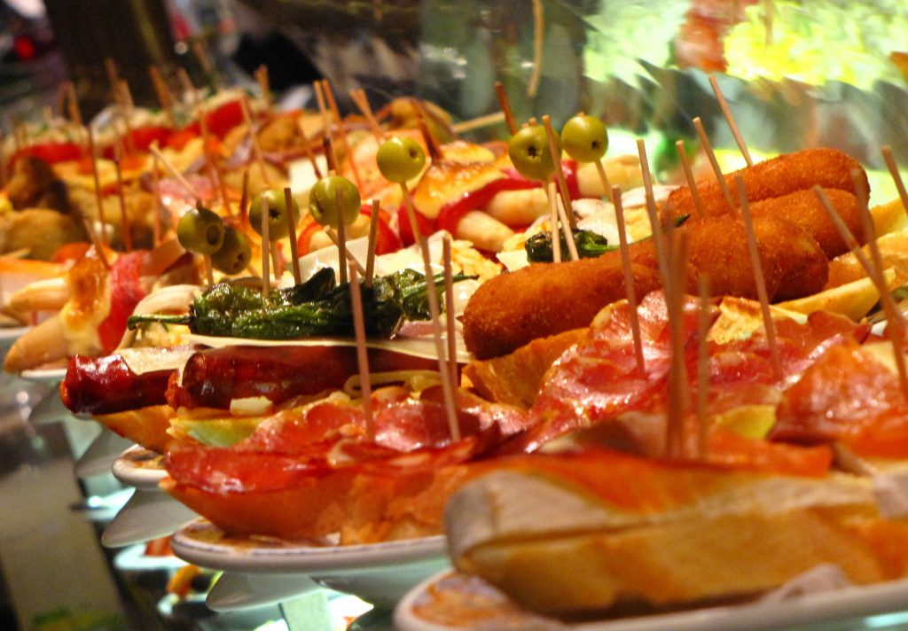 what to eat in madrid, tapas