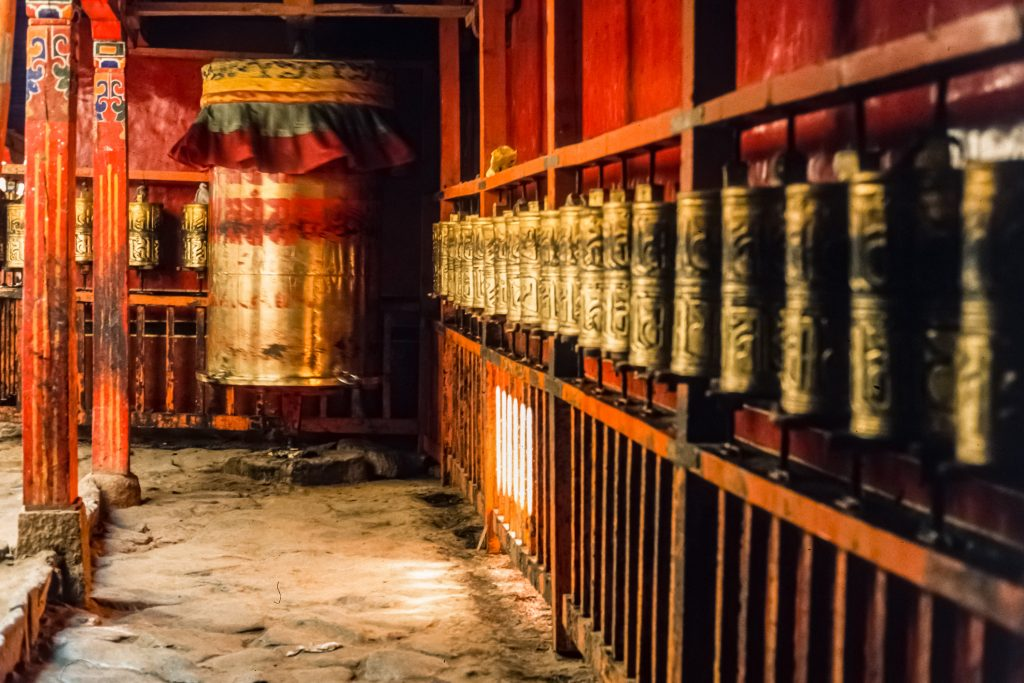 The Jokhang Temple in Lhasa