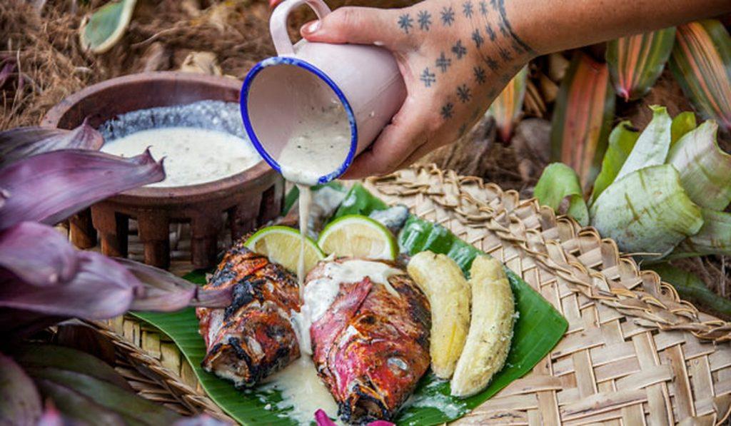 samoa - seafood