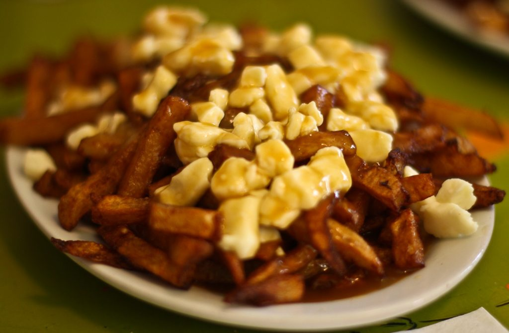 what to eat in whistler - poutine