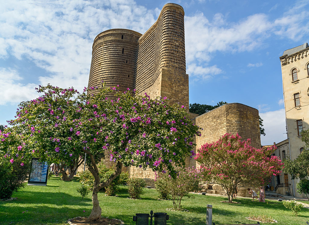 Maiden Tower in Old city, Icheri Sheher