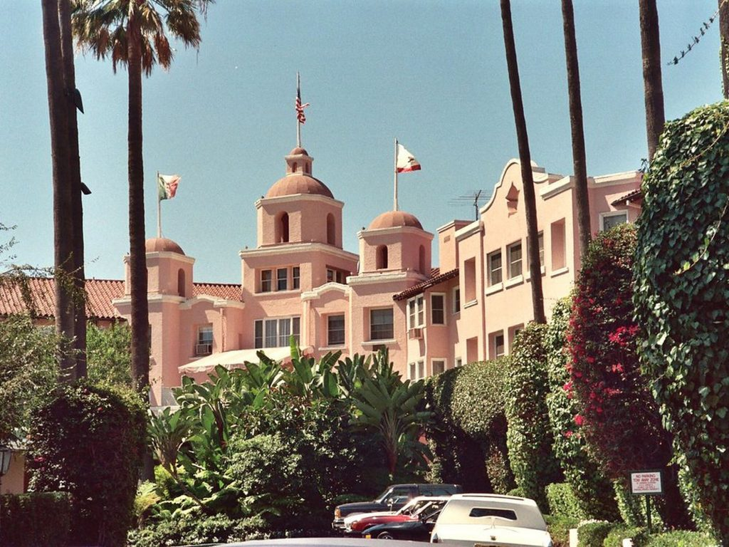 the pink palace hollywood