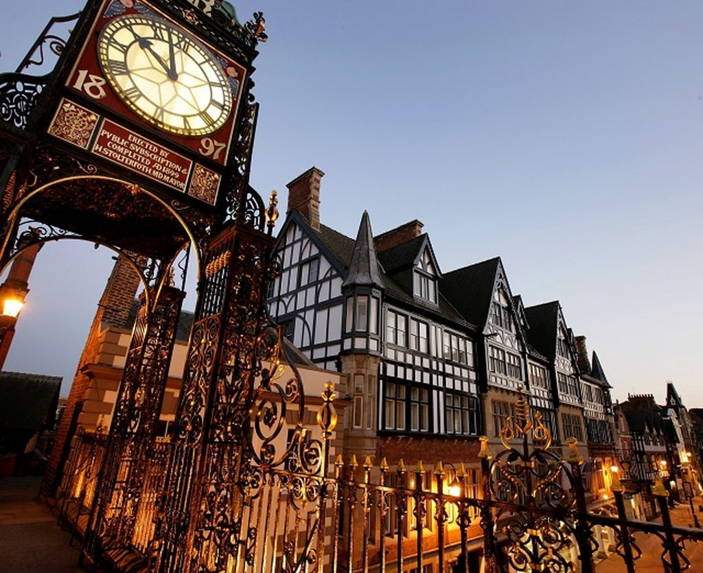 Chester - clock tower