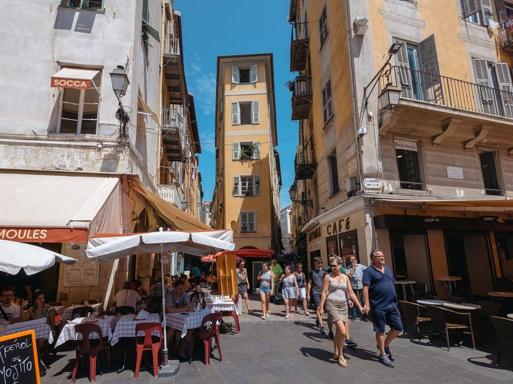 Olad Town at Nice, France