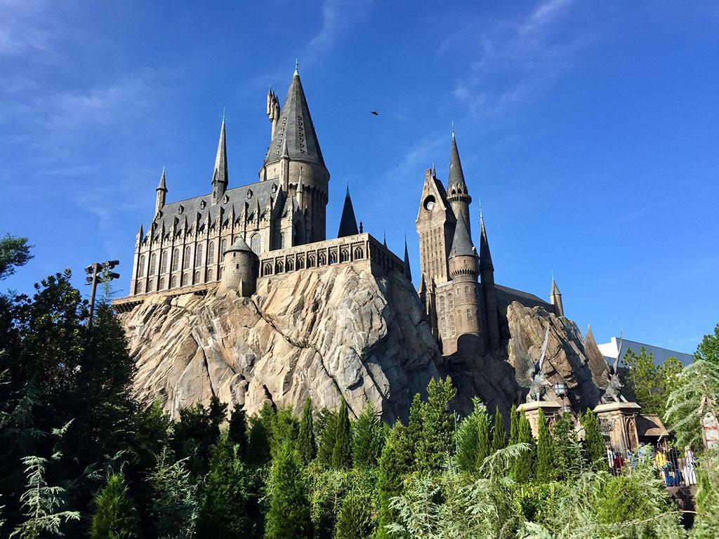 Hogwart in the wizarding world of Harry Potter, Island of adventure, Universal studios