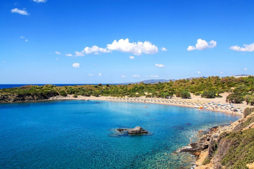 best beaches in rhodes greece