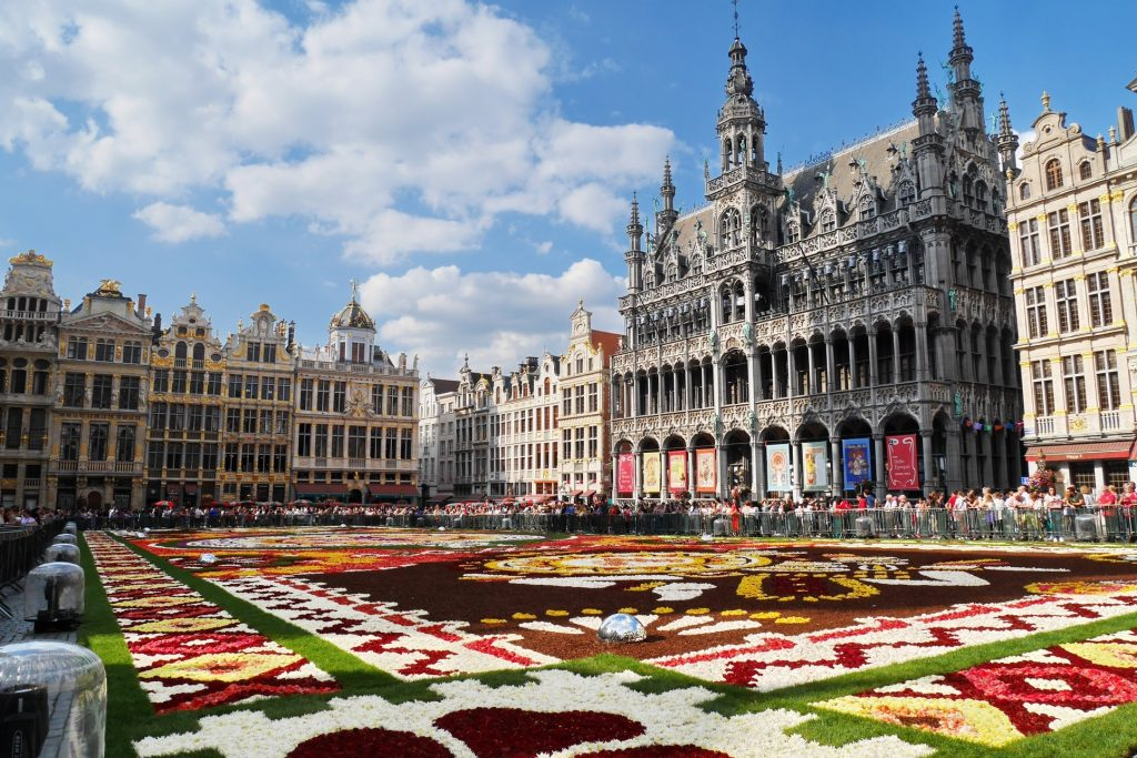 Brussels - city square