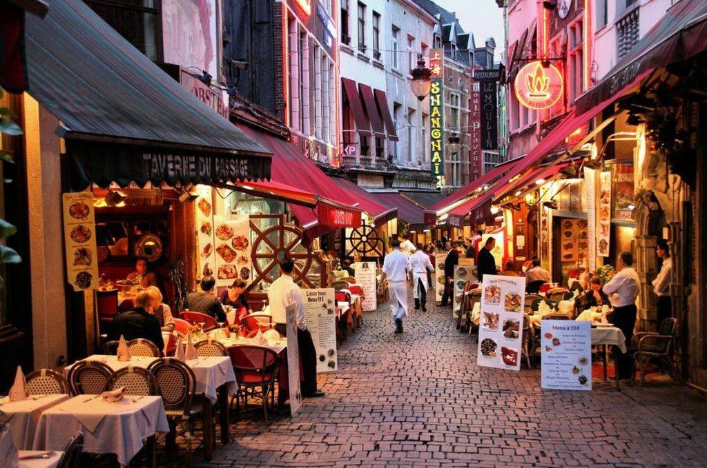 best restaurants in Brussels