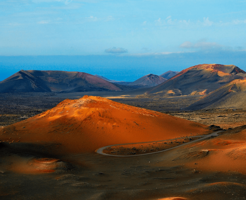 exotic locations at lanzarote