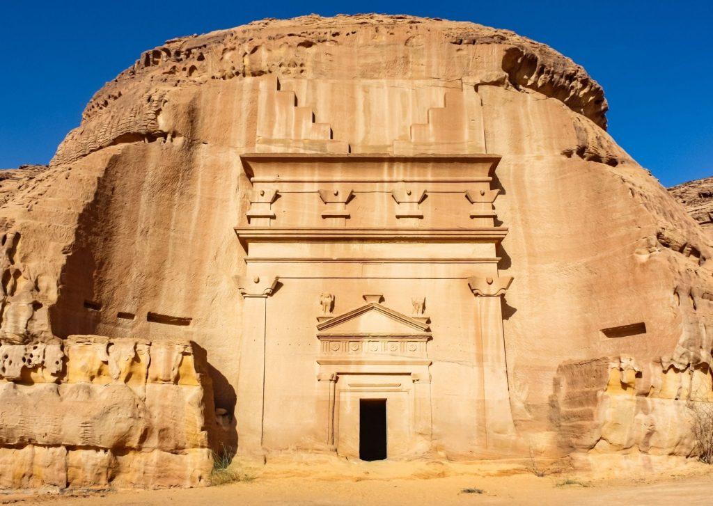 Saudi arabia - Nabatean ruins