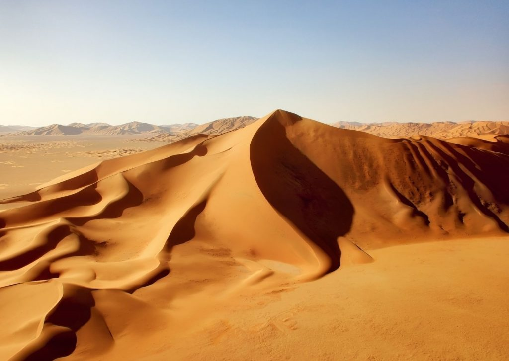 Saudi arabia - sand dunes