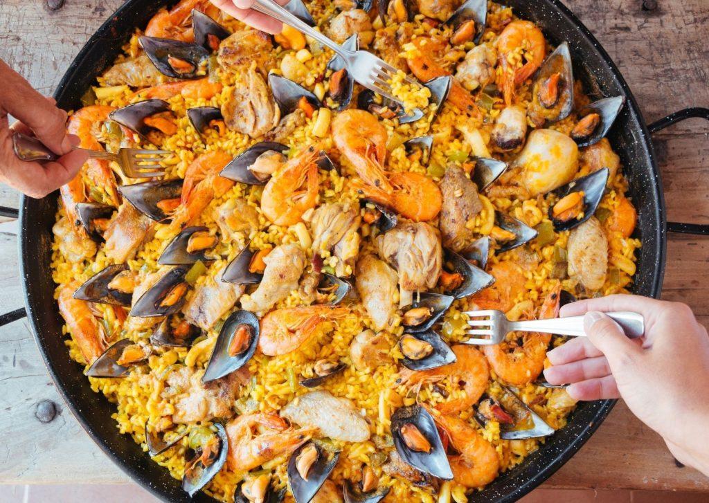 Valencian cusine- paella