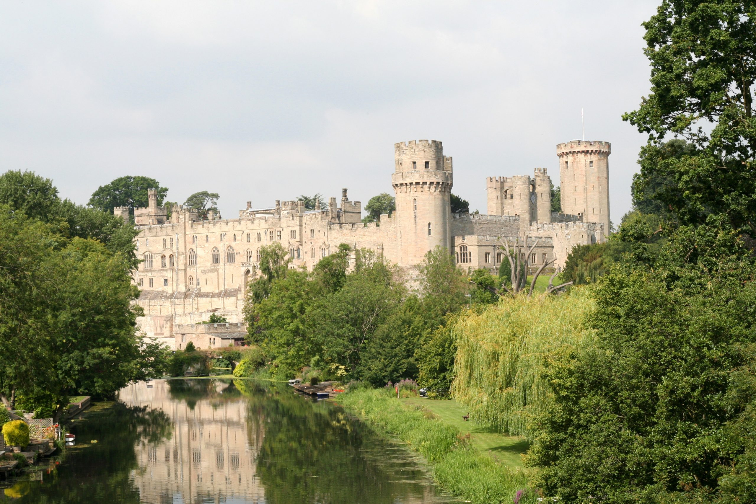 old castles in england