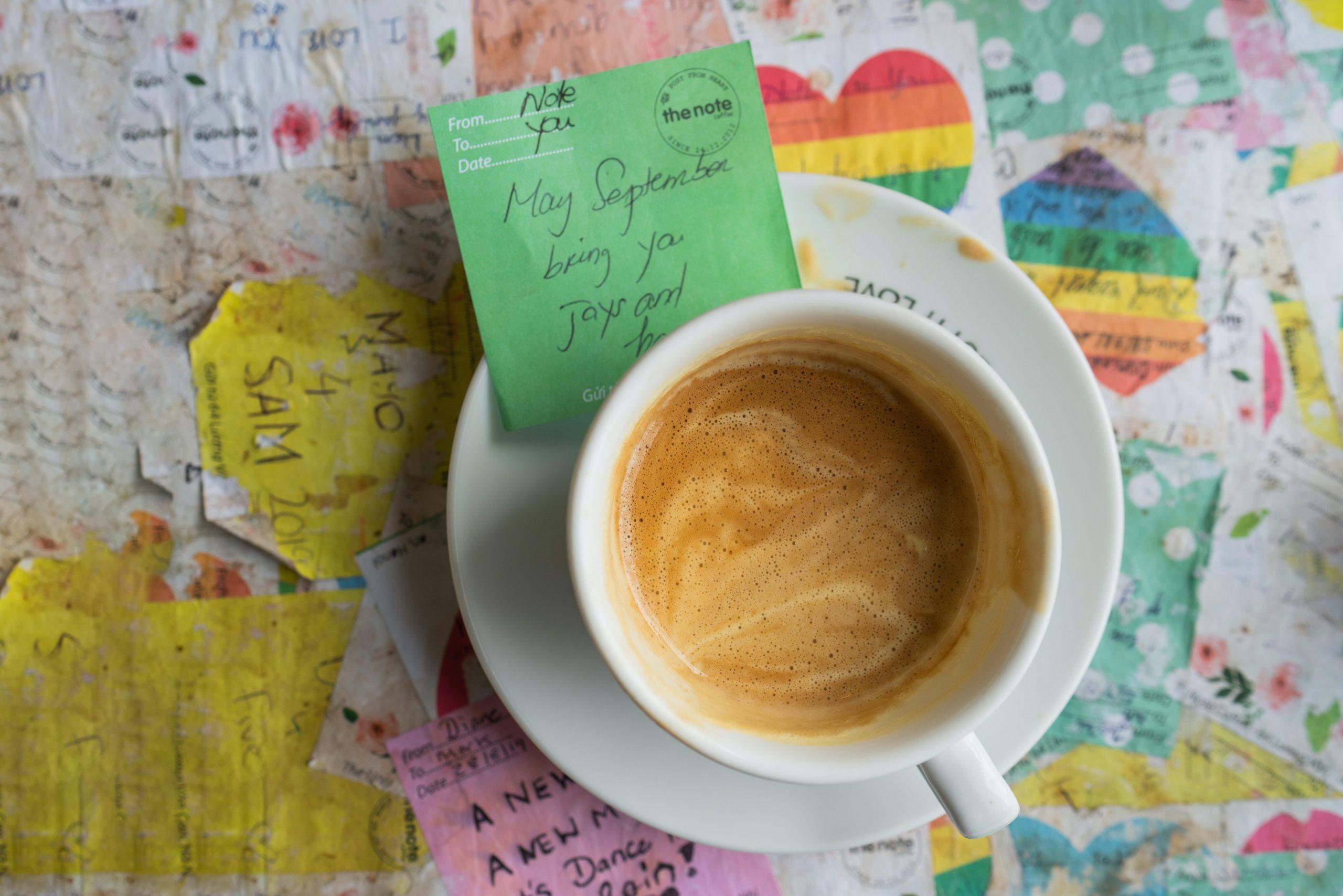 hanoi egg coffee photo